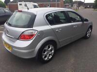 2007 Vauxhall Astra 1.6i 16v SXi manual silver