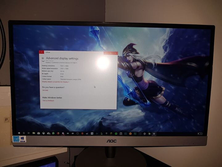 AOC I2369V 23''LED IPS Panel 1080p Monitor | in Chesterfield, Derbyshire |  Gumtree