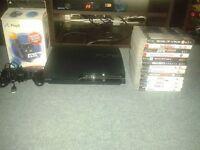 PS3 Slim plus 13 games