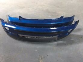 Mini Cooper S Front & Rear Bumpers