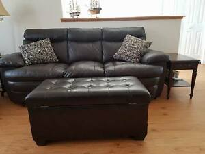 LEATHER COUCH - VERY COMFY - ASAP