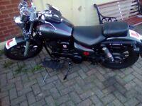 Daelim Daytar VL125FI 125cc Cruiser - Priced to sell this weekend