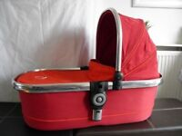 iCandy Peach Carry Cot - Tomato Red