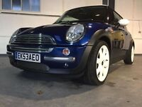 MINI COOPER 1.6 rare Semi Auto very low miles in fantastic condition