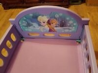 Disney Frozen Toddler Bed Excellent Condition