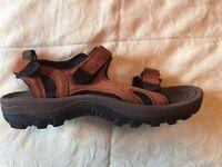 Mens UK Sandals- UK 11- Brown- Brand new