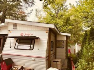 Roulotte Jayco 1997 - Camping lac des pins