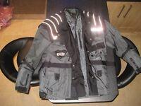 Large Motorcycle Jacket Heavy Duty Python IXS