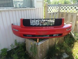 Ford Mustang Bumper and Grill