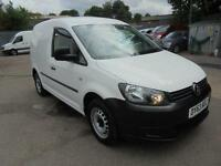 Volkswagen Caddy C20 1.6 Tdi 75Ps Van Swb Sld DIESEL MANUAL WHITE (2013)