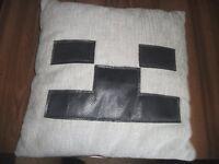 Minecraft cushion for sale.