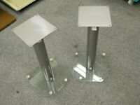 # Alphason AD50-S floor hifi speaker stands - pair new boxed never used