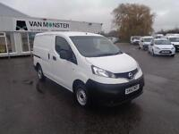 Nissan Nv200 1.5 DCI SE 89BHP VAN DIESEL MANUAL WHITE (2012)