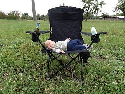 Die Sonne fehlt? Na und, auf diesem Stuhl bleiben selbst kleine Quengler völlig entspannt. (© Outchair)