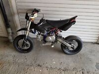 pitbike 140cc suppermoto race ready