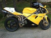 Ducati 996 FSH 16k miles