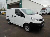 Nissan Nv200 1.5 Dci 89 Se Van TWIN SLD DIESEL MANUAL WHITE (2012)