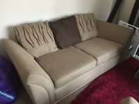 sofa and matching chair excellent condition