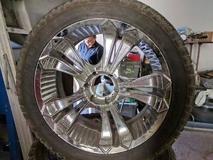 Chevy 6 bolt 22x10in rims