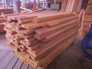 Select W. Red Cedar shipped direct across Canada for $ 5.25/bdft