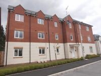 FOR SALE or TO RENT. Spacious open plan apartment. Close to A38.. Allocated parking space