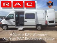 2 X 2010 Renault Master Crew Cabs LM35 DCi 100 with PSV