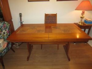 Norwegian Teak Dining Room Suite Price Reduced