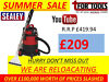 Sealey VMA914/ PC310 Vacuum Cleaners, Carpet Cleaner, Industrial Wet and Dry Valet Machines Lurgan Just Off M1 Junction 10, Belfast