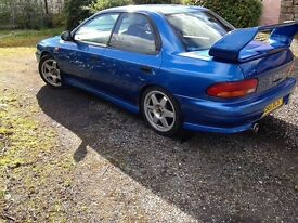 Subaru Impreza 2.0 Turbo. Limited edition Terzo. (Not imported)