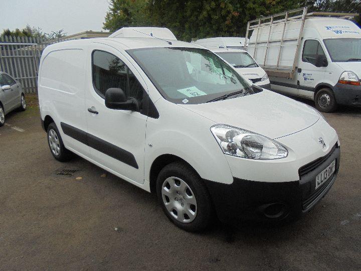 Peugeot Partner L1 850 1.6 Hdi 92 Professional Van DIESEL MANUAL WHITE (2013)