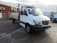 Mercedes-Benz Sprinter 313 CDI 3.5T Chassis Cab Dropside DIESEL MANUAL (2016)