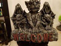 Large Welcome Gargoyle
