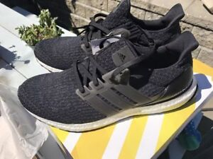 Adidas Ultra Boost 3.0 Black and Navy - Sz 11 and 11 (Deadstock)