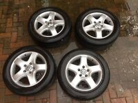 """VW Transporter T5 17"""" Solace Alloy Wheels + Tyres"""