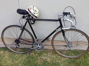 vintage course bicycle with hemlet and importante équipment Haymarket Inner Sydney Preview