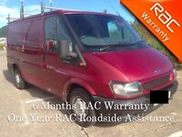 2005 Ford Transit T260 SWB with PSV
