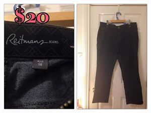 Reitman Jeans Size 18p - Almost NEW