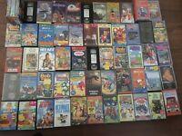 57 Childrens VHS Videos