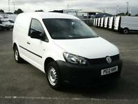 Volkswagen Caddy 1.6TDI 102PS VAN AIR CON DIESEL MANUAL WHITE (2012)