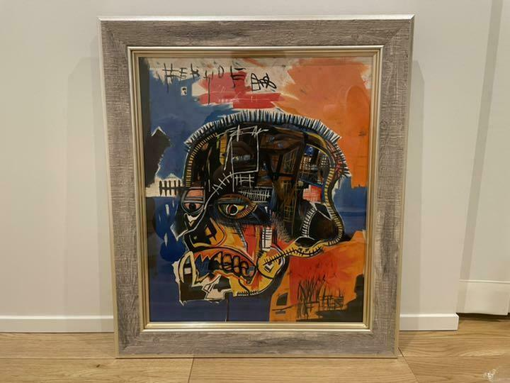 Jean Michel Basquiat There are details