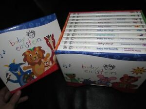 Baby Einstein video set