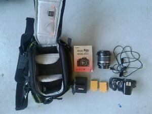 Canon Rebel XSi + 15-55mm lens