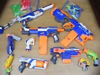 Bundle of NERF Blasters All in great condition
