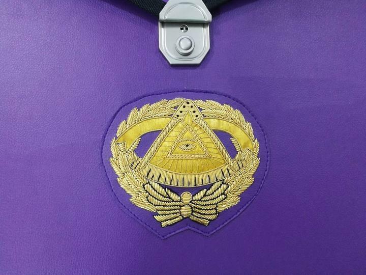 Masonic MM/WM and Provincial Full Dress Grand Master Purple Cases II 2