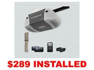 Chamberlain 1/2 HP Chain Drive Garage Door Opener *INSTALLED*
