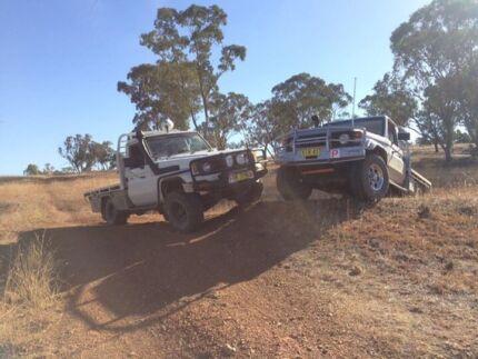 75 series landcruiser ute  Tatton Wagga Wagga City Preview
