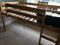 High rise bed