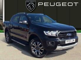 2020 Ford Ranger 3.2 Tdci Wildtrak Double Cab Pickup 4dr Diesel Auto 4wd s/s 200