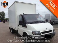 2002 Ford Transit T350 Luton with PSV and Tail Lift