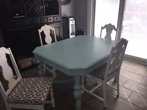 Beautiful Antique table and chairs